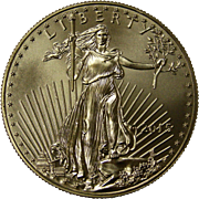SOLD 2015 American Gold Eagle 1 oz (One Troy Ounce) $50 Dollar Coin