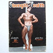 1943 Muscle Magazine Strength & Health Jules Bacon Mr. America