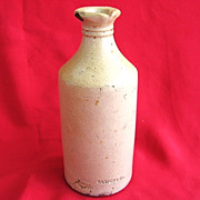 Stoneware Carter's Ink Bottle c. 1900 Enterprise Pottery Co. New Brighton PA