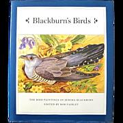 BLACKBURN'S BIRDS Paintings of Jemima Blackburn 1st Ed.