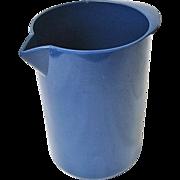 Mid-Century Blue Rosti Denmark Mepal Melamine Utensil Holder Heiner Boberg 2511