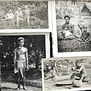 WWII GI Sailor Photos Snapshots South Pacific Islands Bob Hope