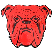 Rare Red Dog Beer Metal Sign