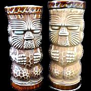 2 Tiki Mugs Trader Dick's John Ascuaga's Nugget OMC Sticker