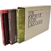 The Poetry of James Kavanaugh 3-Book Boxed Set