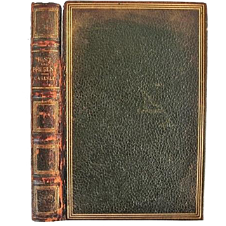 SALE Limited Edition Carlyle's Past & Present w. Original Fore-edge Painting