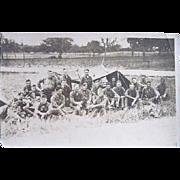 World War I Real Photo Postcard U.S. Soldiers