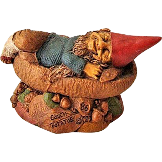 SALE Tom Clark 1988 Couch Potatoe Gnome Cairn Studio Retired