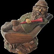 Tom Clark Cairn Studios Mulligan Golfer Gnome 1987 Retired