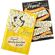 Vogart Embroidery Charts Fall 1950 Fall 1953