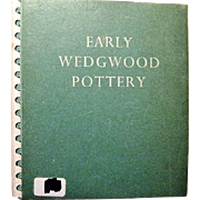 Early Wedgwood Pottery Spiral-bound Book of its 1951 Exhibit