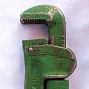 Ridgid # 14 Adjustable Pipe Wrench Ridge Tool Co. 1929