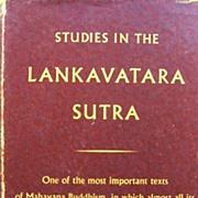 SOLD Studies in the Lankavatara Sutra -- D. T. Suzuki Zen Buddhism Classic