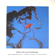 SALE Fassbinder Querelle The Film Book Warhol Cover with Brad Davis Jeanne Moreau