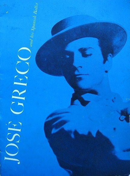 Jose Greco and His Spanish Ballet 1960s Performance Program
