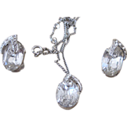 EISENBERG-  pendant necklace and earrings