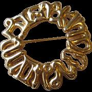 FENDI- signed vintage brooch