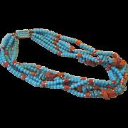 Vintage Multi-strand Vintage Necklace