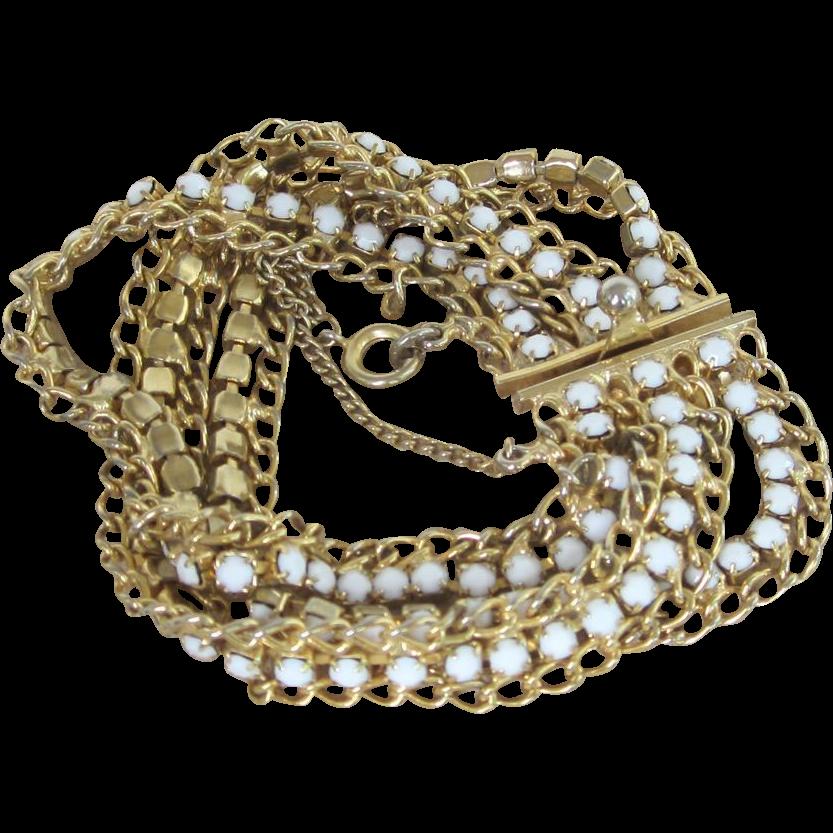 HOBE- vintage signed bracelet