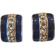 R.J. Graziano- signed vintage runway earrings