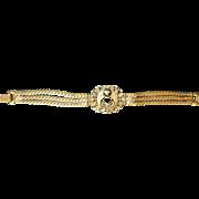Victorian Brass Bracelet
