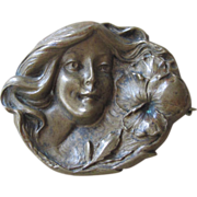 Super Art Nouveau Brooch
