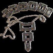 Emmons Book Piece Vintage Bracelet and Necklace