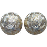 Christian Dior- Signed Vintage Clip Earrings