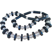 Chunky Runway Vintage Lucite Necklace