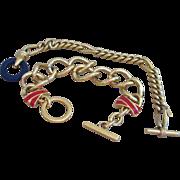 Monet- Two Toggle Vintage Bracelets Signed