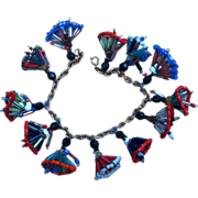 Charm Beaded Person Vintage Travel Bracelet
