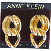 Anne Klein Vintage Earrings