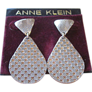 Anne Klein Vintage Unworn Pierced Earrings