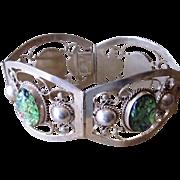 Mexican Sterling Stamped Vintage Unique Bracelet