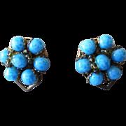 Italian Vintage Earrings Super