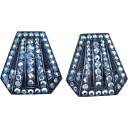 Deco and Marcasite  Amazing Vintage Earrings