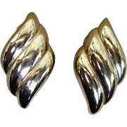 Christian Dior Vintage Elegant and Classic Vintage Earrings