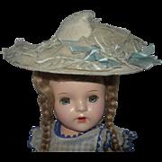 Vintage Cream Felt Hat