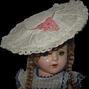 Vintage Lace Hat