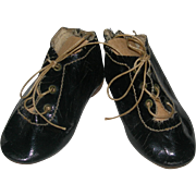 German Bisque Doll Shoes