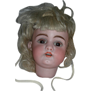 SALE A Pretty #1079 Head with Wig and Bonnet