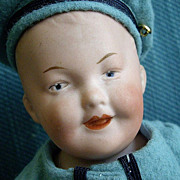 REDUCED 12'' Gebruder Heubach Smiling Character Boy