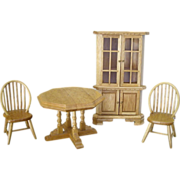 Miniature Dining Set for Your Room or Dollhouse