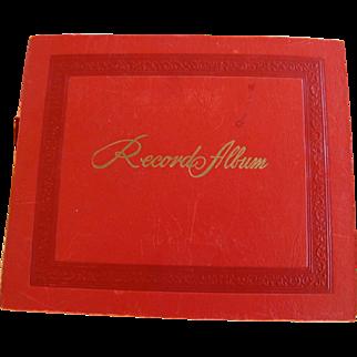 SALE 1950's Era 45rpm Record Album Collection