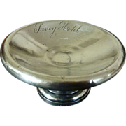 SALE Rare SAVOY HOTEL Silver French Ercuis  Compote Dish