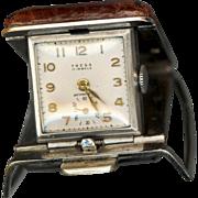 Rare Tresa belt watch with Advertisement