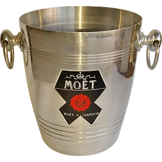 Vintage French Moët & Chandon Champagne Ice Bucket