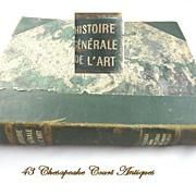 Histoire Generale de l'Art~French Art Book