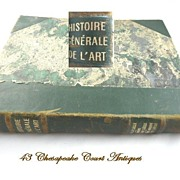 Histoire Generale de l'Art~French Art Book Volume II
