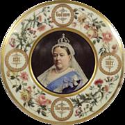 Queen Victoria Jubilee Platter